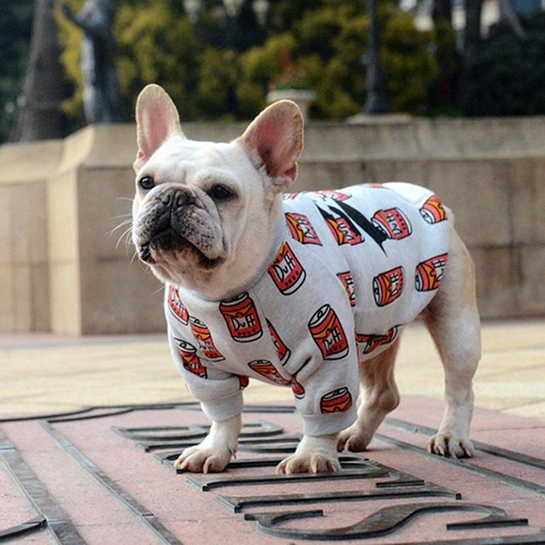 одежда для французского бульдога своими руками выкройки и фото собаки в одежде