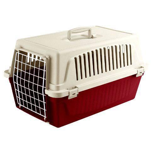 Пластиковый контейнер для перевозки собак